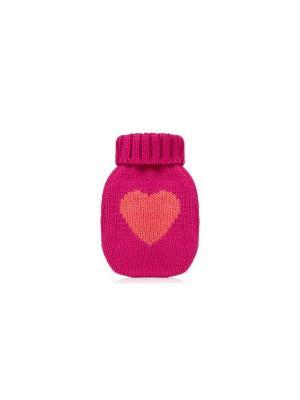 Грелка для рук Pink Heart Kawaii Factory. Цвет: красный
