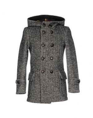 Пальто LOST IN ALBION. Цвет: черный
