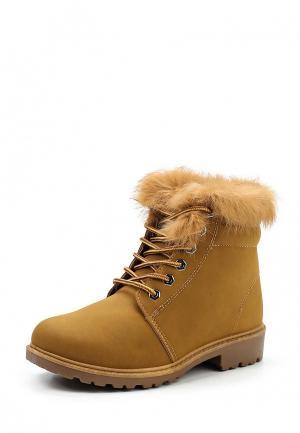 Ботинки Stephan. Цвет: коричневый