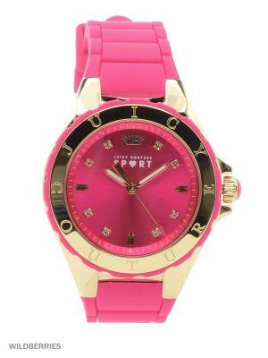 Часы Juicy Couture. Цвет: розовый