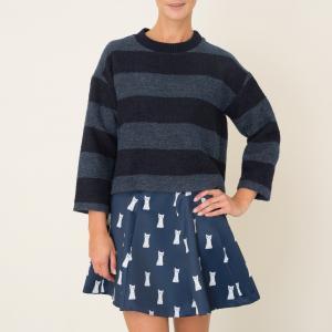 Пуловер KARMA PAUL AND JOE SISTER. Цвет: темно-синий
