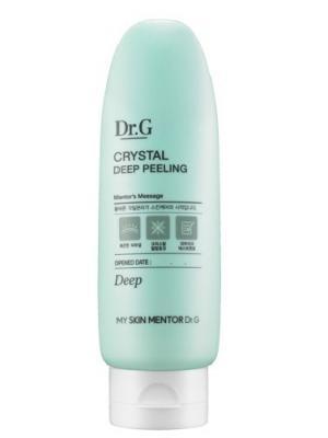 Крем отшелушивающий для глубокого очищения кожи Peeling, 120 мл. Dr.G. Цвет: белый
