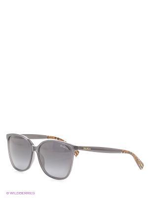Солнцезащитные очки MAXMARA. Цвет: серый, коричневый