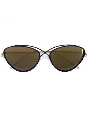 Солнцезащитные очки Brooklyn Prism. Цвет: чёрный