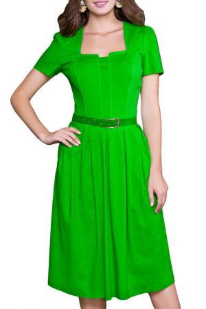 Платье Olivegrey. Цвет: салатовый