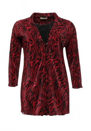Блуза Bassini. Цвет: бордовый