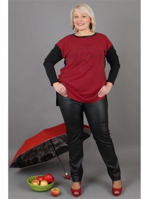 Туника NadiN. Цвет: красный, черный