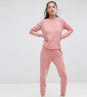 ASOS Petite Меланжевый комплект одежды для дома. Цвет: оранжевый