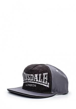 Кепка Lonsdale. Цвет: серый