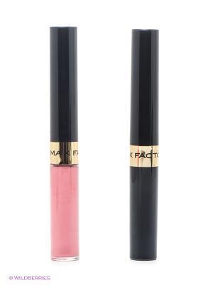 Стойкая губная помада и увлажняющий блеск Lipfinity, 010 тон MAX FACTOR. Цвет: розовый