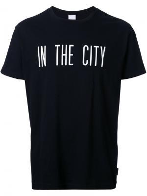 Футболка In  City Cityshop. Цвет: чёрный