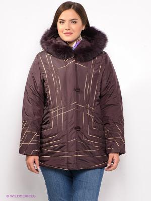 Куртка VIZANI. Цвет: сливовый