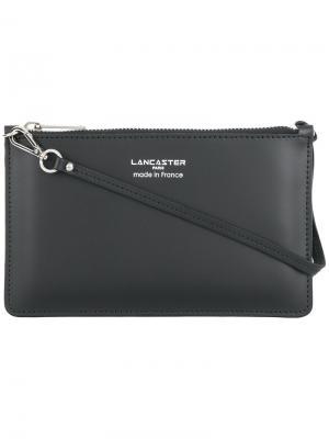 Клатч с логотипом Lancaster. Цвет: чёрный