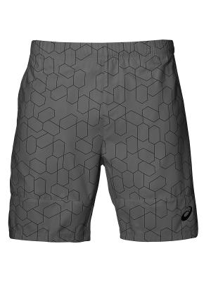 Шорты CLUB GPX SHORT 7IN ASICS. Цвет: серый
