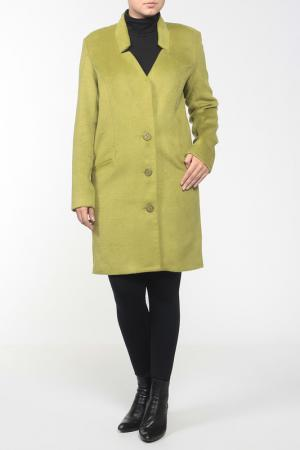 Пальто French Fries. Цвет: зеленый