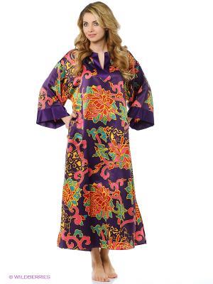 Платье - туника Natori. Цвет: фиолетовый, розовый