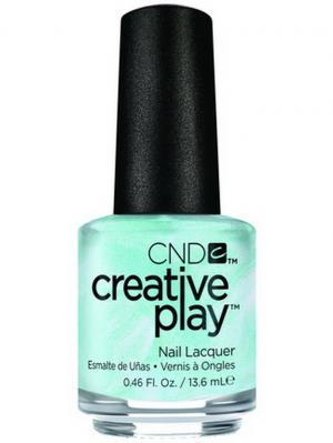 Лак для ногтей CND 91107 Creative Play # 436 (Isle Never Let You Go), 13,6 мл. Цвет: белый