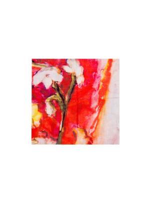 Платок Москва-Черкизово 130х130 см ArtNiva. Цвет: бежевый