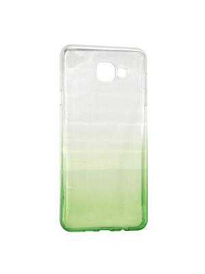 Крышка задняя для Samsung A5 2016/A510 Силикон IQ Format. Цвет: зеленый
