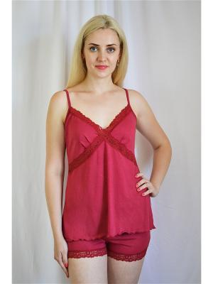 Пижама Miata. Цвет: красный