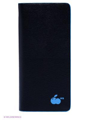 Кошелек WB. Цвет: голубой, черный