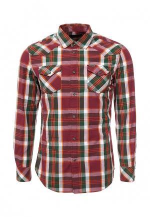 Рубашка Diesel. Цвет: бордовый