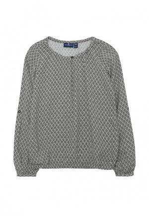 Блуза Tom Tailor. Цвет: синий