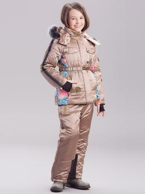 Комплект одежды RadRada. Цвет: бронзовый