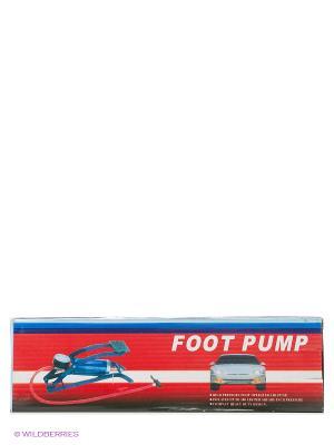 Насос JY-25B ножной Start Up. Цвет: синий, красный, черный