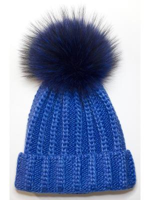 Шапка IVY Wooly's. Цвет: темно-синий