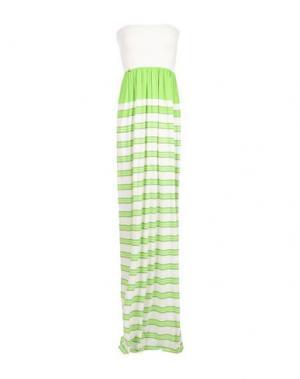 Длинное платье PATRIZIA PEPE. Цвет: светло-зеленый