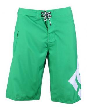 Пляжные брюки и шорты DC SHOECOUSA. Цвет: зеленый