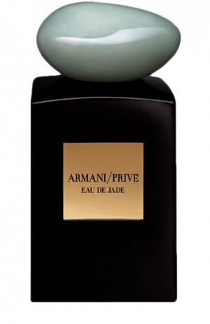 Парфюмерная вода Eau de Jade Giorgio Armani. Цвет: бесцветный
