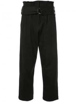 Свободные брюки с высокой талией Thom Krom. Цвет: чёрный