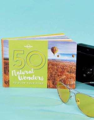 Books Книга для путешественника 50 Natural Wonders от Lonely Planet. Цвет: мульти