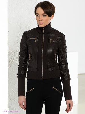 Куртка Gaudi. Цвет: темно-коричневый
