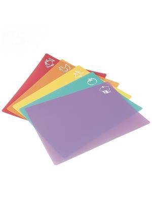 Tatkraft PIC Гибкие pазделочные доски, 5 шт. Цвет: синий, зеленый, красный