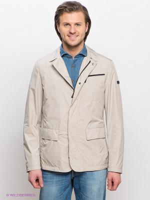 Куртка GEOX. Цвет: светло-бежевый