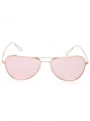 Солнцезащитные очки Matt Isabel Marant For Oliver Peoples. Цвет: розовый и фиолетовый