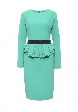 Платье Bezko. Цвет: мятный