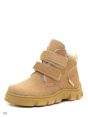 Ботинки ФОМА. Цвет: светло-коричневый
