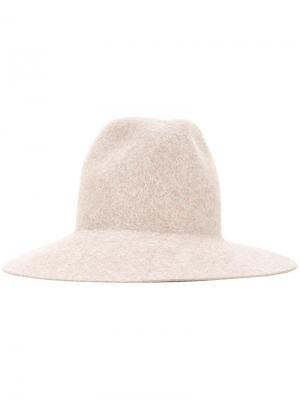 Шляпа Adjuster Kijima Takayuki. Цвет: коричневый