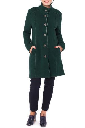 Пальто Woolhouse. Цвет: зеленый, светло-зеленый