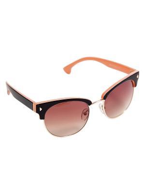 Солнцезащитные очки Kameo-bis. Цвет: розовый, золотистый, черный