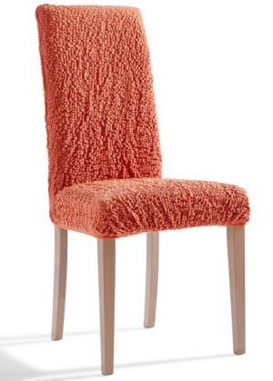 Чехол на стул Кринкл (терракотовый) bonprix. Цвет: терракотовый