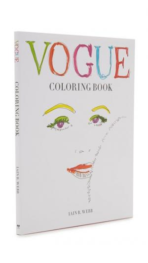 Vogue Coloring Book Books with Style