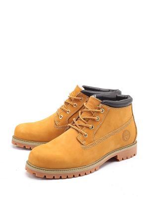 Ботинки Tofa. Цвет: желтый