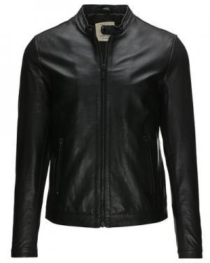 Кожаная куртка  Kolt Gnious. Цвет: черный