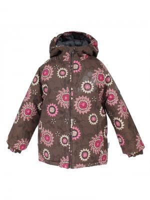 Куртка HUPPA. Цвет: светло-бежевый