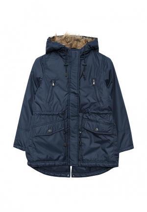 Куртка утепленная Incity. Цвет: синий